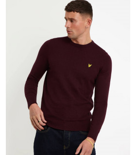 Maglione Lyle & Scott Cotton Merino Crew Neck Jumper