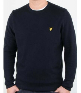 Maglione Lyle & Scott cotton Crew Neck Jumper