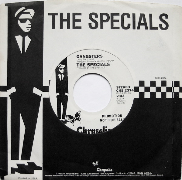 Discogs The Specials - Gangsters (1979, Vinyl)