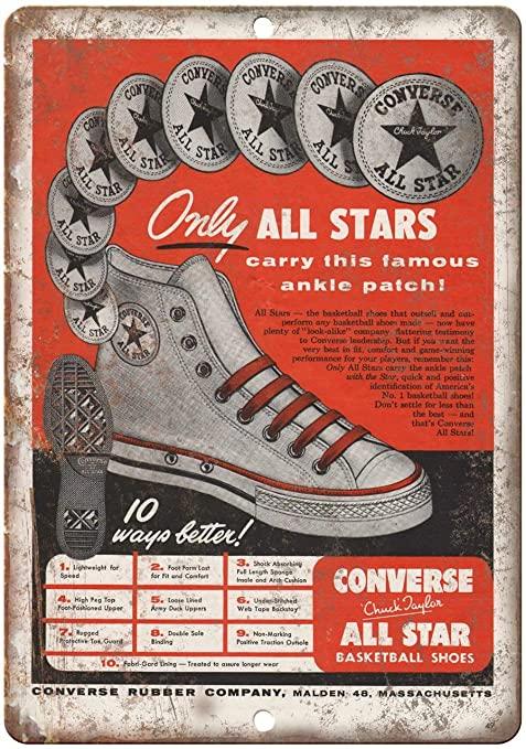 La Converse oggi fa parte del colosso Nike