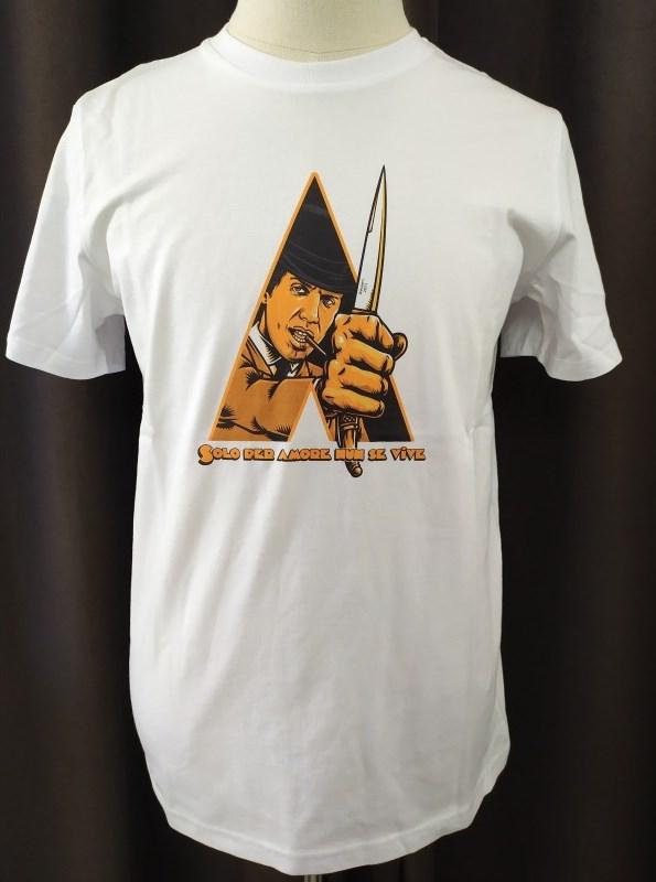 la versione bianca della t-shirt