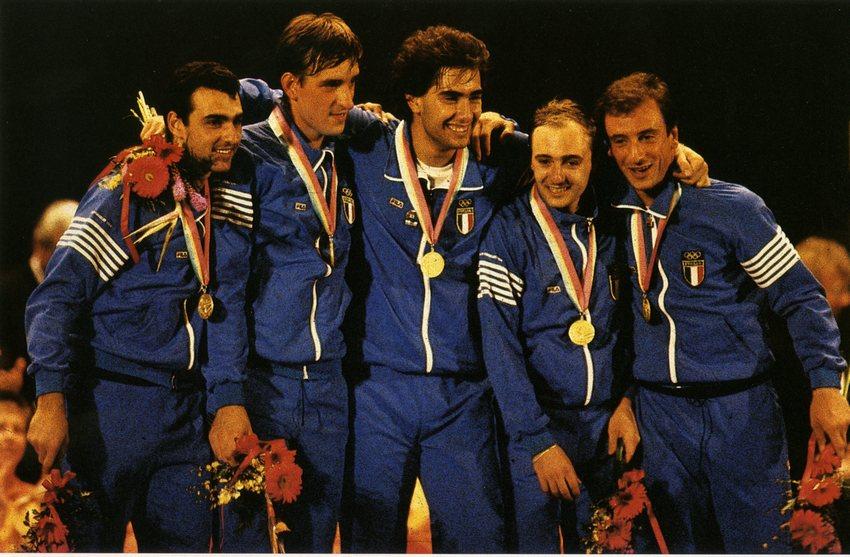 Fioretto azzurro nel '84