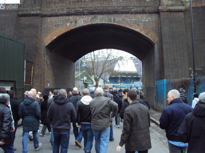 The Tunnel that led into Cold Blow Lane at the Old Den