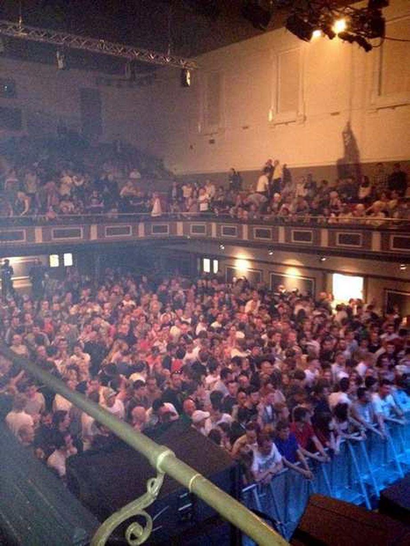 Parr Hall, unica sala concerti di Warrington,