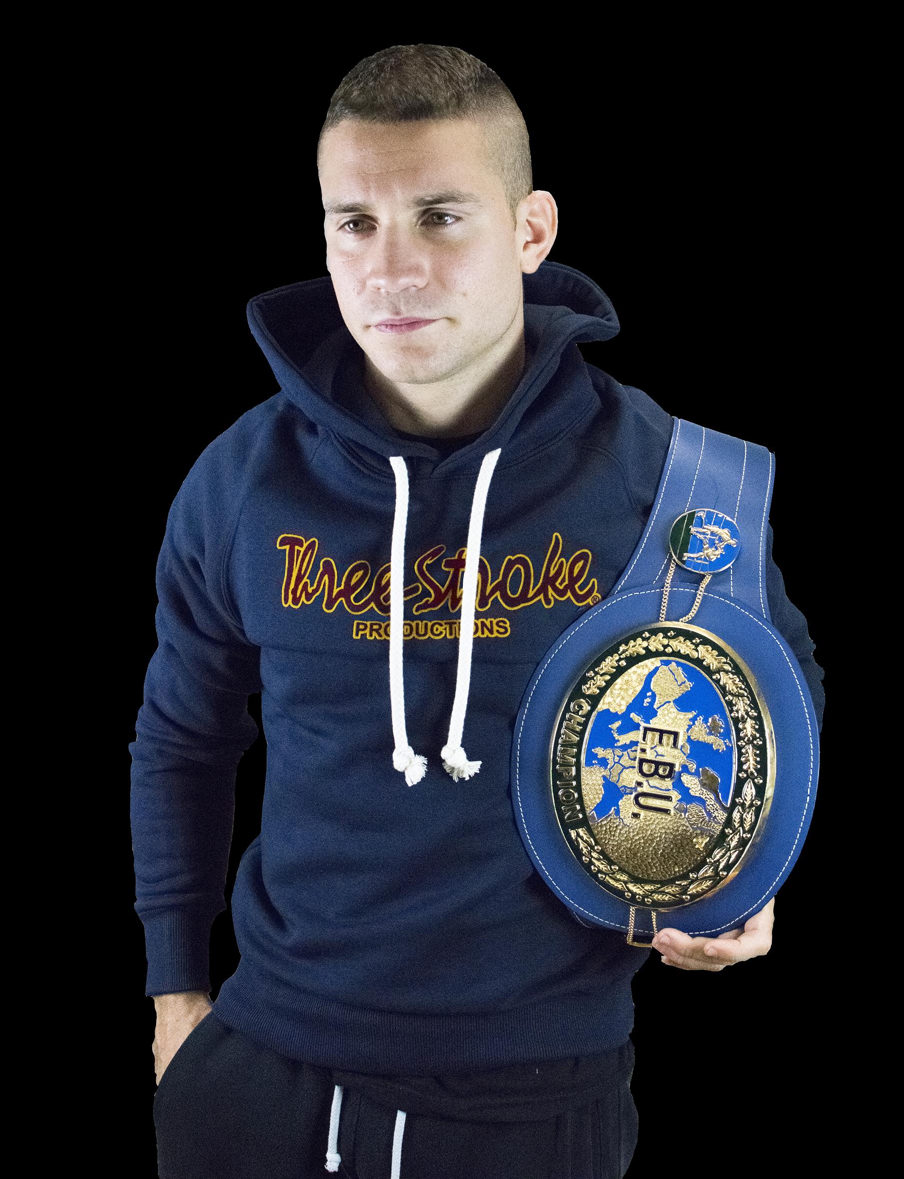 Luca Rigoldi ex campione europeo categoria Super Gallo