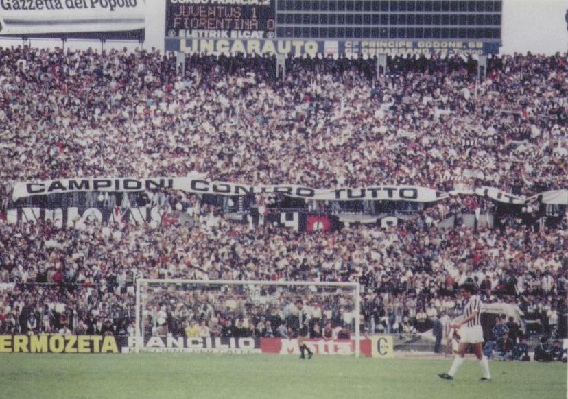 Juventus Fiorentina 1980/81