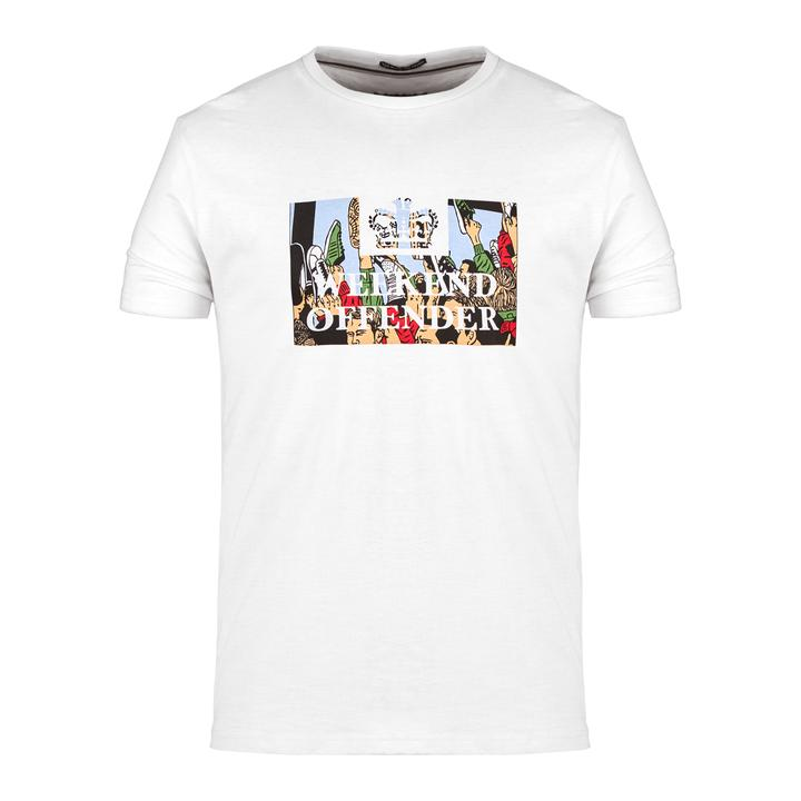 La t-shirt foot soldier di weekend offender
