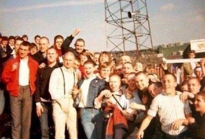 Pompey skins at Bradford 1980