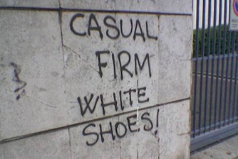 only white shoes casual firm