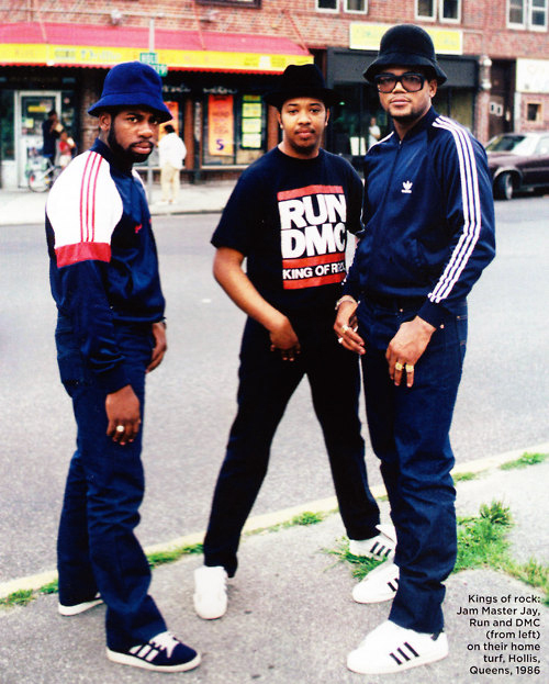 nel 25th anniversario di my adidas uscirono le Superstar Run DMC