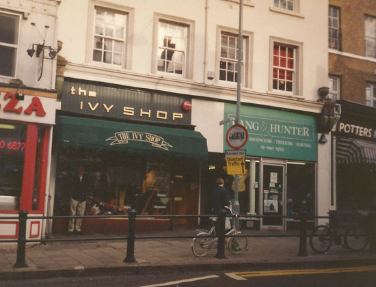 The Ivy shop